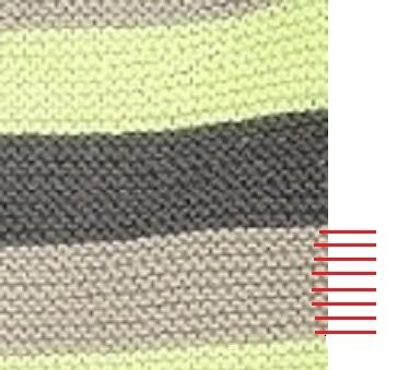 comment compter les mailles d'un tricot