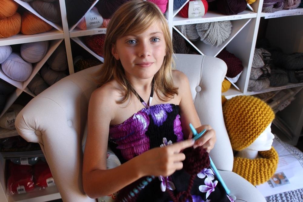 C-Cours de tricot pour adolescentes- landes 11h54
