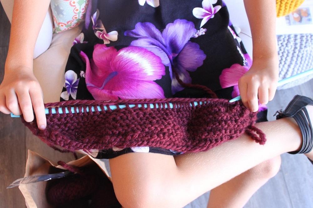 D- Apprendre à tricoter aux enfants dans les Landes-Aquitaine 12h