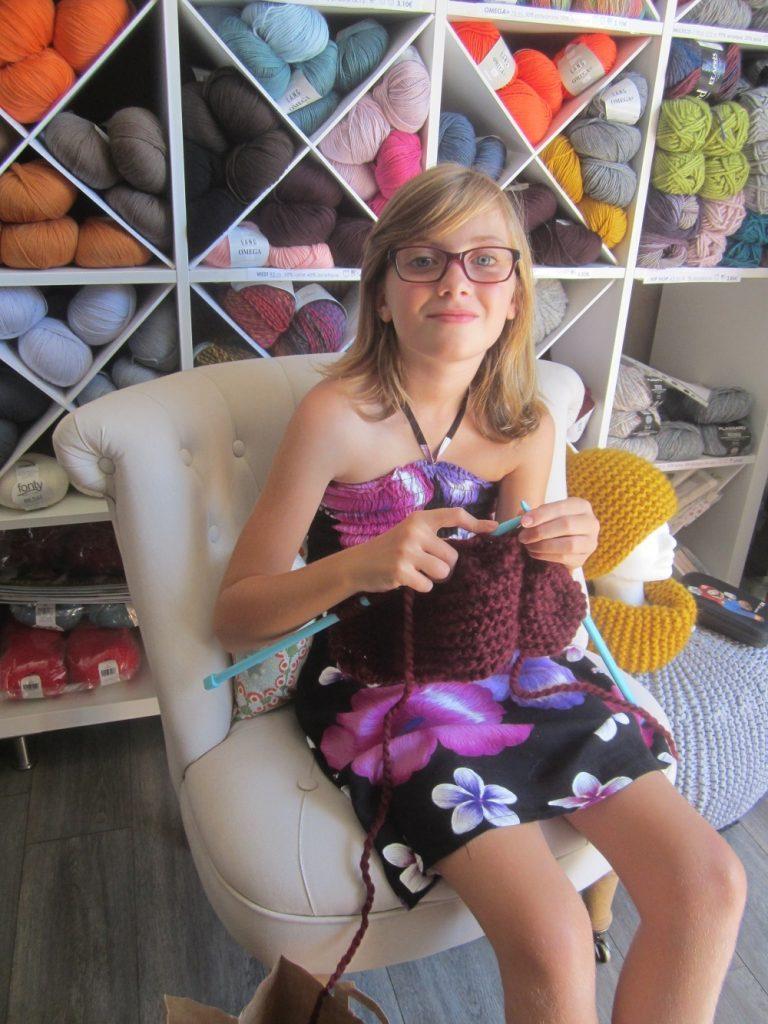 G-Wool Kit Factory les cours de tricot gratuits pour enfants en Aquitaine avec Gazouillis et cie-15h30