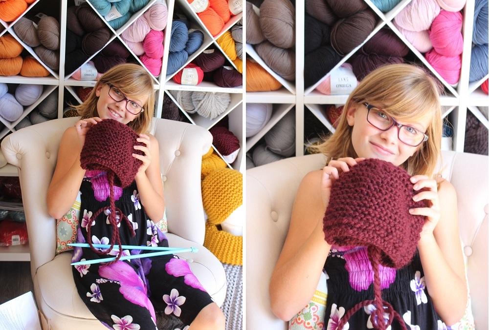 I-cours et leçons de tricot gratuits Morcenx - 4 heures pour tricoter un bonnet 16h30