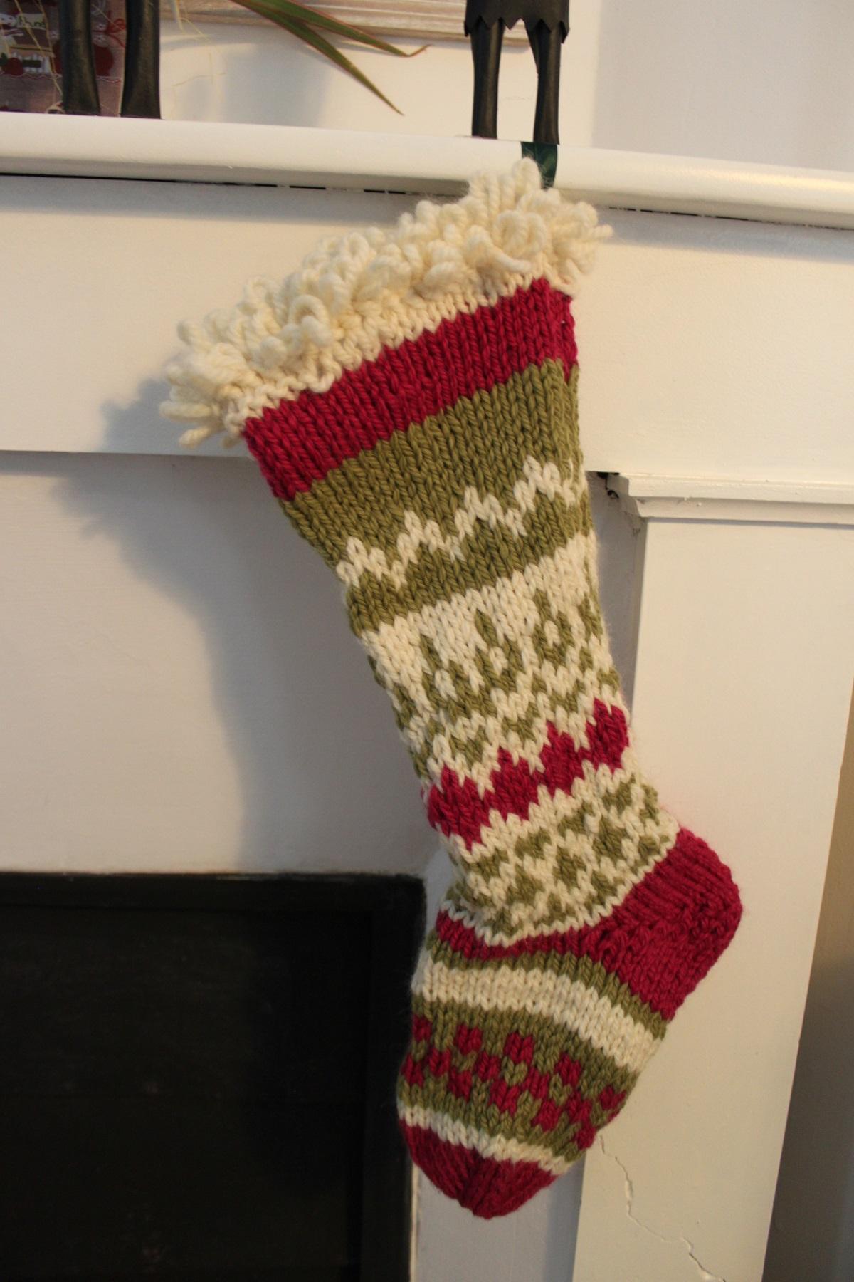 tutoriel tricot gratuit chaussettes de noel pour tricoteuse confirmée