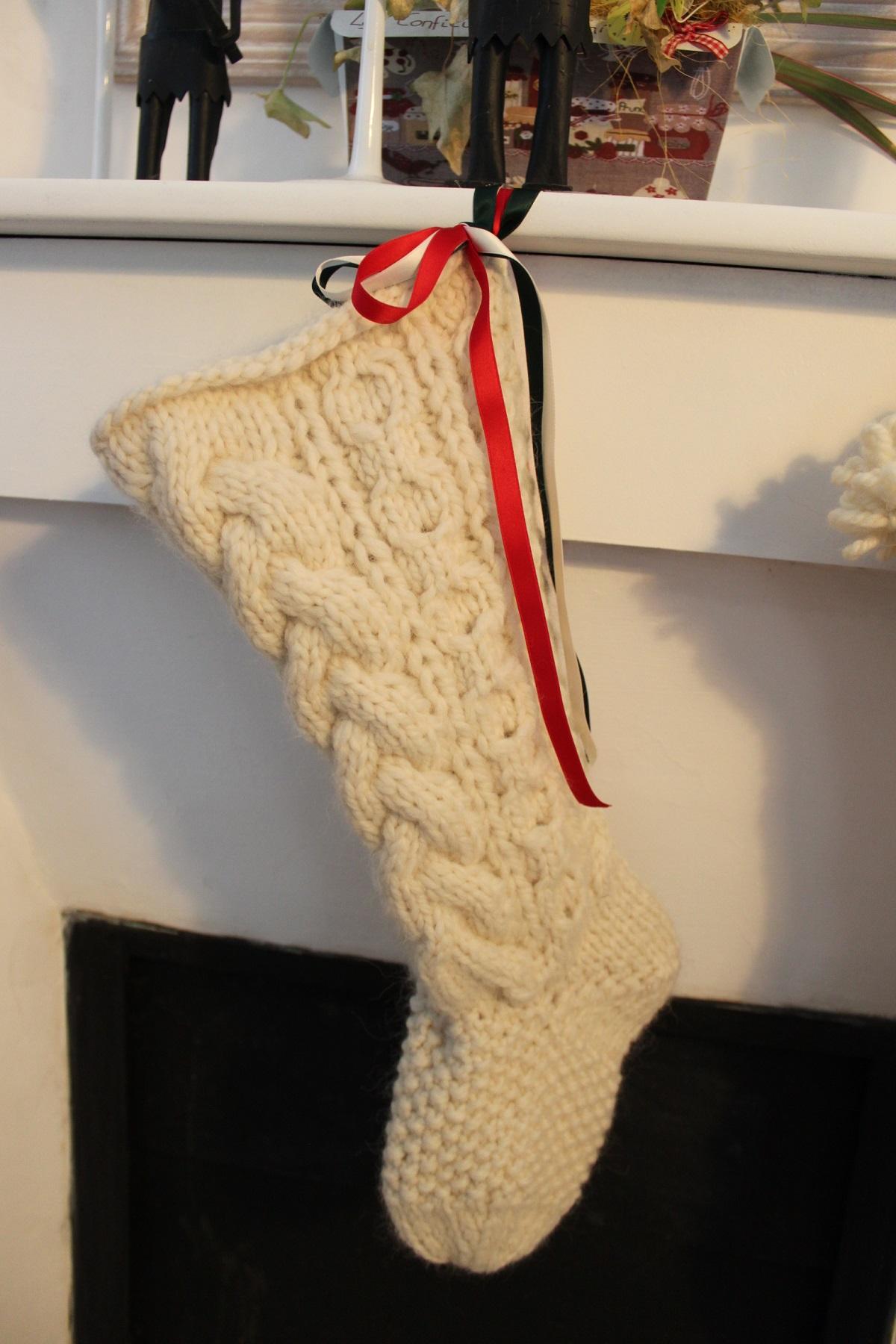tutoriel tricot gratuit chaussettes de noel pour tricoteuse experte