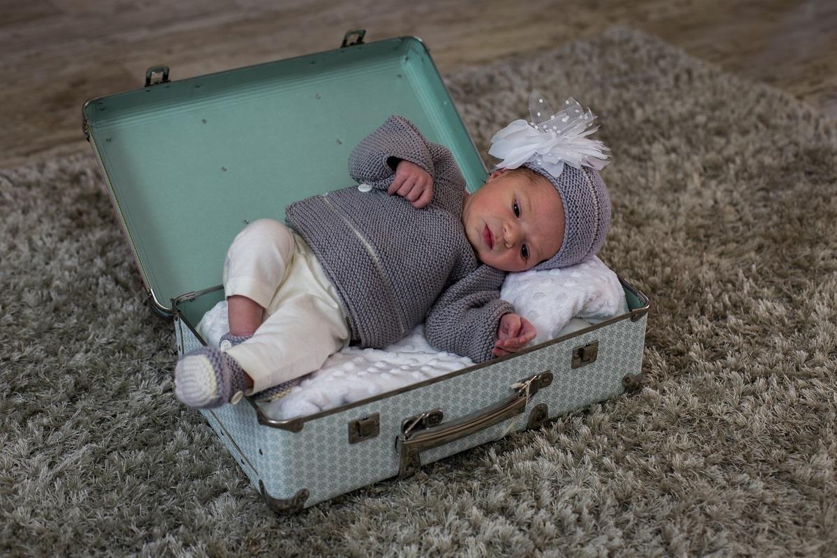 Délicatesse, tenue de cérémonie pour bébé