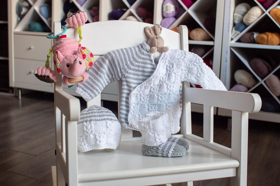 Surprise ensemble bébé pour la maternité-