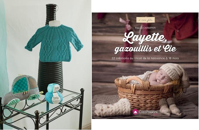 22 créations au tricot de la naissance à 18 mois
